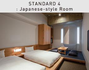 STANDARD 4 : Japanese-style Room